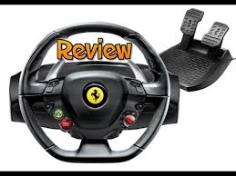 thrustmaster 458 review thrustmaster 458 italia racing wheel review forza