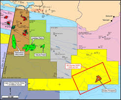 Ghana Map Africa by Ghana Oil Crossed Crocodiles