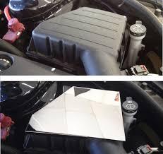 corvette stainless creations camaro 2010 2016 v6 v8 stainless steel air filter box cover