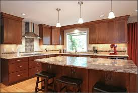 Kitchen Tile Backsplash Ideas With Granite Countertops Granite Countertop Colours For Kitchen Cabinets Temporary