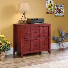 sauder 2 drawer file cabinet sauder dakota pass 2 drawer file cabinet tv stand in fiery pine 420319