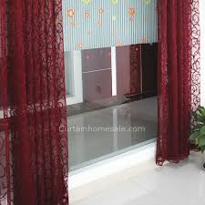 Sheer Burgundy Curtains Burgundy Lace Curtains 28 Images Burgundy Lace Curtains House
