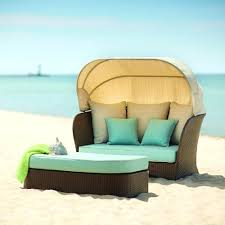 Providence Outdoor Daybed by White Frame Daybed La Fete Designs Sun Pad Outdoor Round Resort