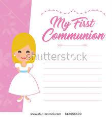 communion invitation communion invitation background free vector