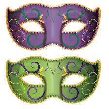 mardi gras mask and jumbo mardi gras mask cutouts shindigz