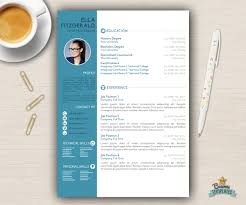 resume template cv template for word cover letter creative