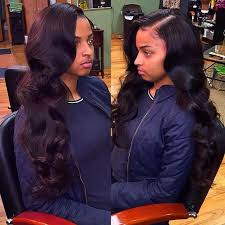 best way to sew in a weave for long hair best 25 sew in side part ideas on pinterest deep side part