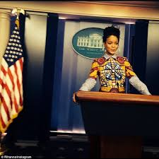 Abby Meme - rihanna pretends to be scandal s olivia pope at the white house