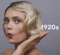1980s feathered hair pictures cut com video reveals 100 years of german beauty daily mail online