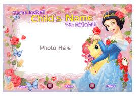 Personalized Invitation Card For Birthday 7th Birthday Invitation Ajordanscart Com