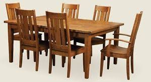 amish table and chairs amish rustic plank expandable rectangle dining set table chairs