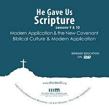 imitation of christ study guide he gave us scripture foundations of interpretation modern