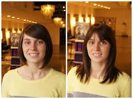 Frisuren Lange Haare Vorher Nachher by Vorher Nachher Frisuren Lang Kurz Kurzhaarfrisuren Bilder
