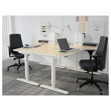 Ikea Stand Up Desks by Bekant Corner Desk Left Sit Stand Black Brown White Ikea