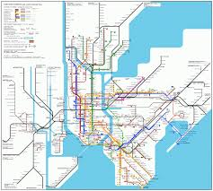 Subway Map by Buffalo Subway Map Travel Map Vacations Travelsfinders Com