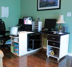 Small Computer Desk Ideas Interior Modern Small L Shaped Corner Desk Ideas Room Designs