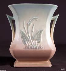 Hull Pottery Vase Hull Pottery Price Guide Calalily Pattern