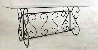 wrought iron pedestal table base dining room black wrought iron garden furniture wrought iron dining