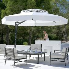 White Patio Umbrella Black Patio Umbrella Outdoor Umbrella In Black And White Modern