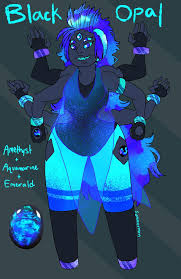Black Opal Fusion By Summermon On Deviantart