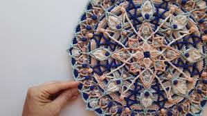 crochet home decor jaeyonce overlay crochet mandala pattern crocheted home