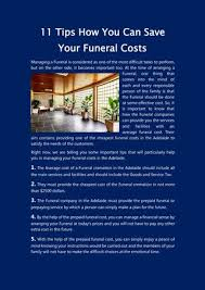 funeral cost save your funeral cost in adelaide 11 important tips by glenelg