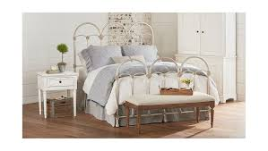 magnolia home magnolia home magnolia home king rosette iron bed