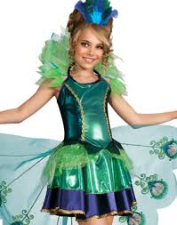 Toddler Peacock Halloween Costume Peacock Child Costume Small 4 6 Walmart