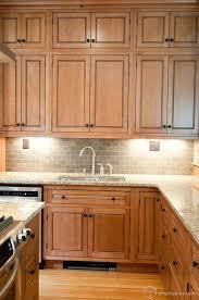 Kitchen Cabinets Lighting Ideas Kitchen Backsplash White Kitchen Shelves Light Oak Cabinets