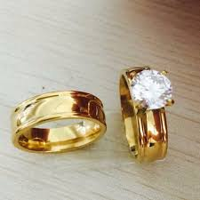 Couple Wedding Rings by Jewelry Rings Couple Wedding Rings Set Couples Ring Sets In Pink