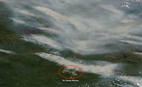 Wild Fires In Oregon State by Smoke From Hundreds Of Wildfires In Canada Streams South Across