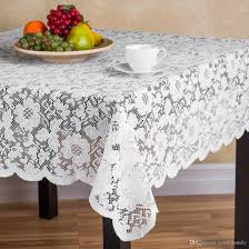 polyester lace tablecloths square lace table cover