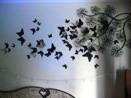 butterfly wall decor 2 for u20ac20 butterfly wall art wall wood