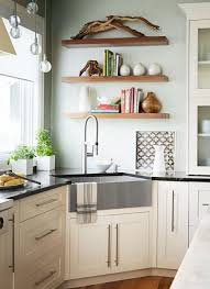 Corner Sink Kitchen by Kitchen Tour Smarty Plans Apron Front Sink Smart Kitchen And Rust