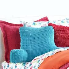 armchair pillow for bed h hypoallergenic fill bed reading pillow