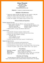 medical assistant resume sample lead medical esthetician medical