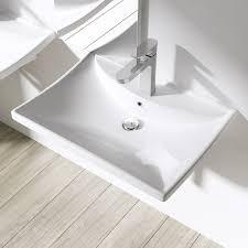 design aufsatzwaschbecken bth 60x44x16cm design aufsatzwaschbecken hängewaschbecken inkl