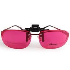 Red Green Blind Aliexpress Com Buy Men Carter Color Blind Clip On Eyeglasses Red