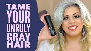 how to tame gray hair m a r y a m on twitter tame your unruly gray hair favorite