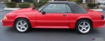 92 ford mustang gt for sale 1992 mustang gt convertible beautiful york mustangs forums