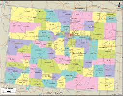 county map of colorado with roads map of colorado and colorado