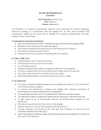 sle resume for ojt tourism students skills in resume for ojt tourism students starengineering
