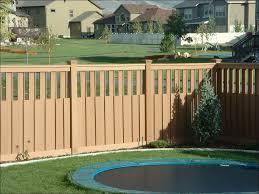 exteriors backyard fence styles contemporary garden fencing