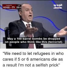 Barrels Meme - memri tv illi 1 may a 100 barrel bombs be dropped on people who