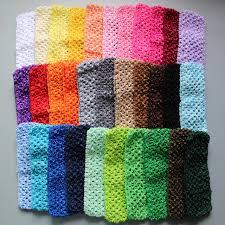 crochet headband tutu 2017 free shipping 2 75 elastic crochet headband whosesale