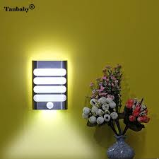 Wireless Wall Sconce Tanbaby Rechargeable Motion Sensor Led Light Wireless Wall