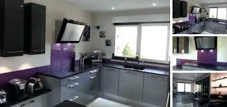 cuisine couleur violet cuisine couleur violet credence cuisine violet couleur idee couleur