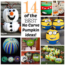 No Carve Pumpkin Decorating Ideas 14 Of The Best No Carve Pumpkin Ideas