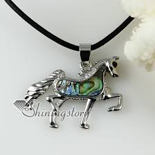 horse necklace pendants images Sea turtle horse fish oval rainbow abalone shell necklaces jpg