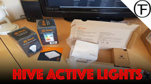 hive active light 3 pack hive active lights home automation youtube